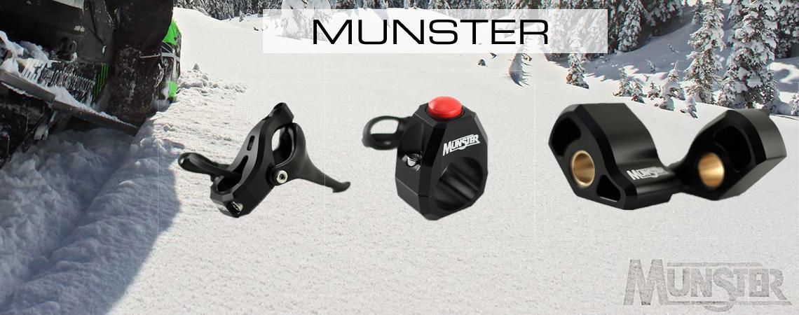Munster snöskoterprodukter