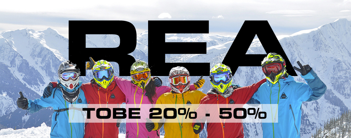 Tobe Rea 20% - 50%