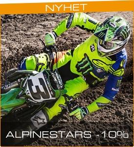 Alpinestars crosskläder - 10% rabatt