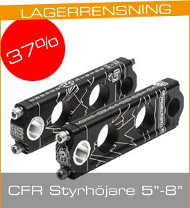 """Fynda styrhöjare från CFR - 37% på svarta 5"""", 6"""" och 8"""""""