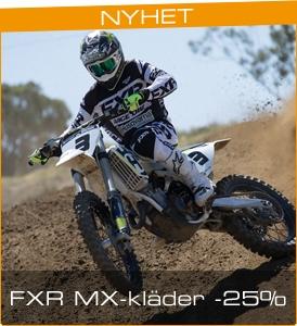 FXR Crosskläder 25%rabatt