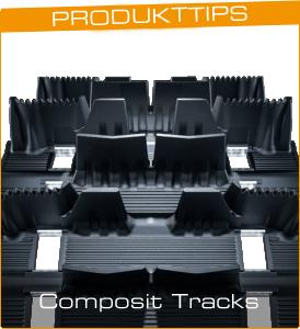 Composit Tracks skotermattor