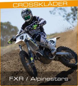Crosskläder från FXR och Alpinestars