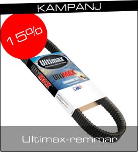 Modshop - Kampanjpris - 13-15% på Ultimax variatorremmar