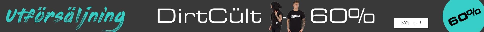 Modshop - Utförsäljning på DirtCult kläder. Hela 60% rabatt!